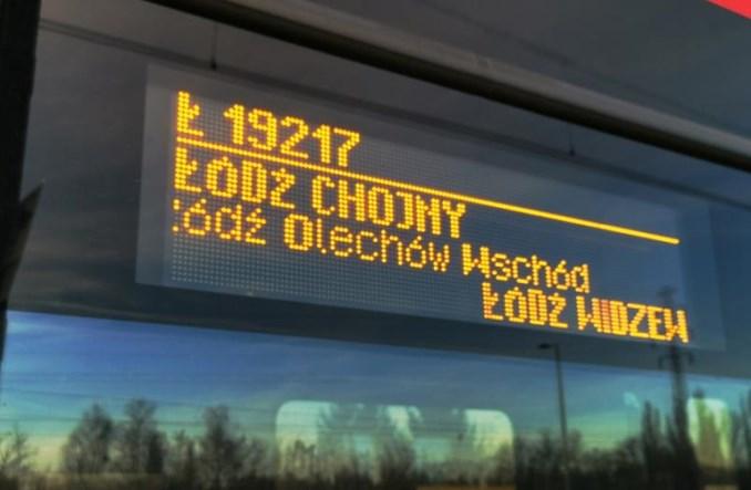"""Łódź: Czemu nie kursują pociągi na Olechów? """"Stworzenie rozkładu jest bardzo trudne"""""""