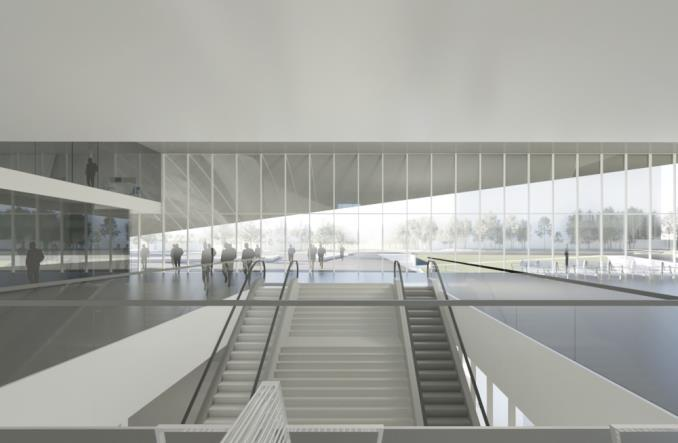 PKP SA prezentują wizję nowego dworca Olsztyn Główny [wizualizacje]
