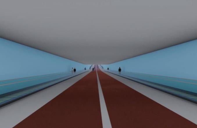 Amsterdam: Wizja tunelu pod rzeką z wjazdem spiralnym dla rowerzystów [grafiki]