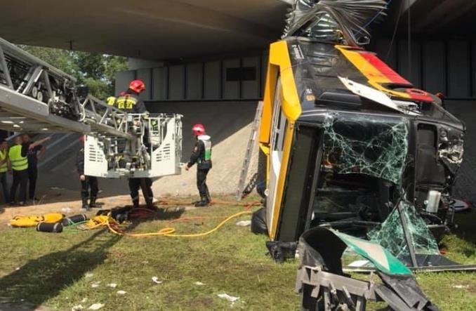 Wypadek na Moście Grota-Roweckiego. Arriva wydała oświadczenie