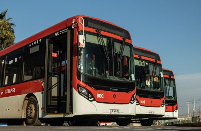 355 nowych autobusów Scania wyjedzie na ulice Santiago