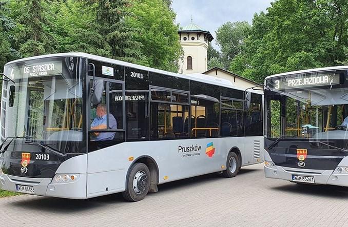 Pruszków z nową linią i autobusami