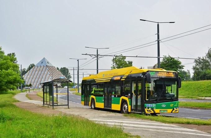 Tyskie Linie Trolejbusowe z ofertą na 6 elektrobusów ładowanych z sieci trakcyjnej