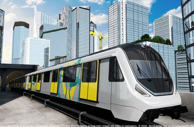 Bombardier dostarczy 201 wagonów do metra w Agra i Kanpur w Indiach