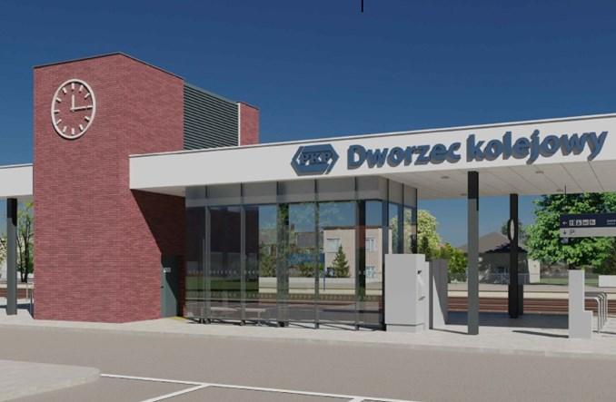 Rusza realizacja minidworców systemowych w Gorzkowicach i Wilkoszewicach