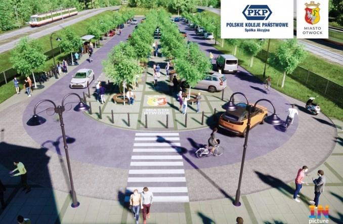 Wraz z remontem dworca w Otwocku zmieni się okolica [wizualizacje]