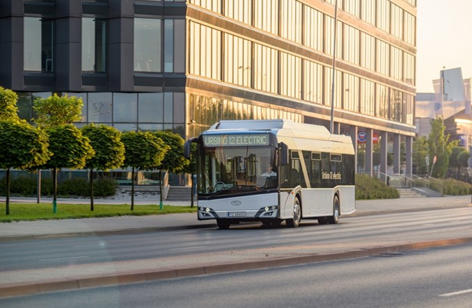 Do Opola pojadą elektrobusy Solarisa