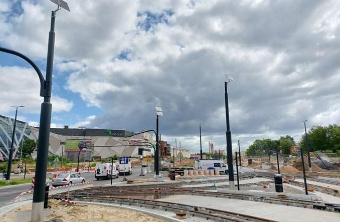 Bydgoszcz: Budowa tramwaju na Kujawskiej zaawansowana w 65%