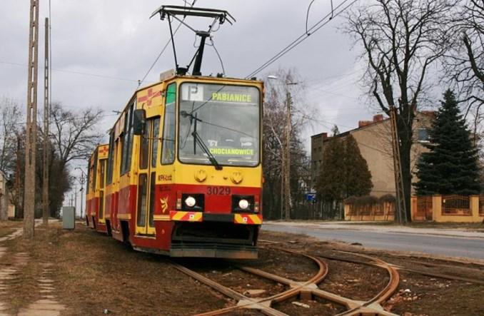 Pabianice: Trwają prace tramwajowe w samym mieście