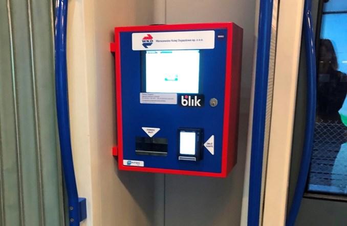 WKD z biletomatami w pociągach. Pojawią się też na peronach