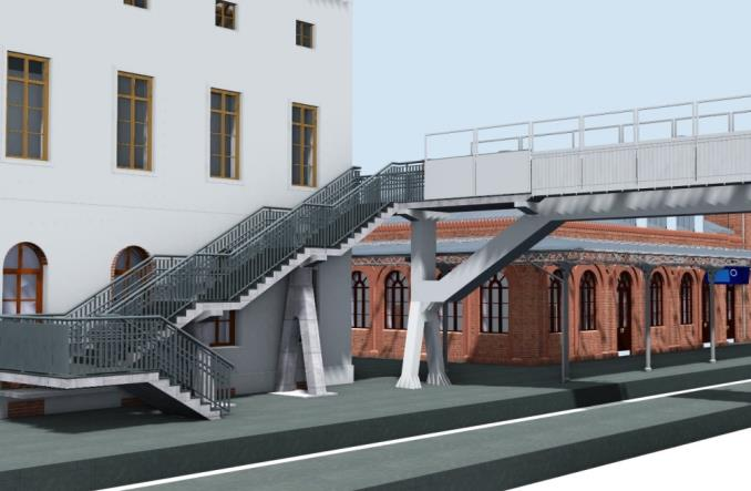 Rusza przetarg na przebudowę dworców w Węglińcu [wizualizacje]