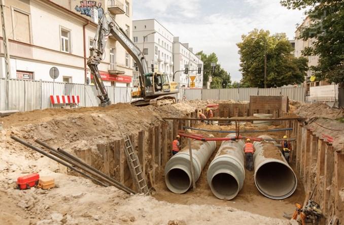 Lublin: Postępuje przebudowa Al. Racławickich