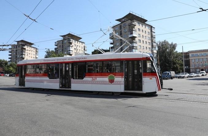 W Zaporożu ruszył nowy tramwaj