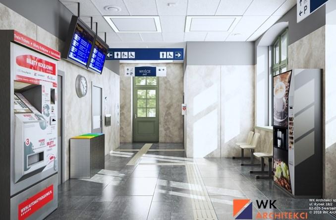 Rusza modernizacja kolejnych dworców kolejowych w Wielkopolsce