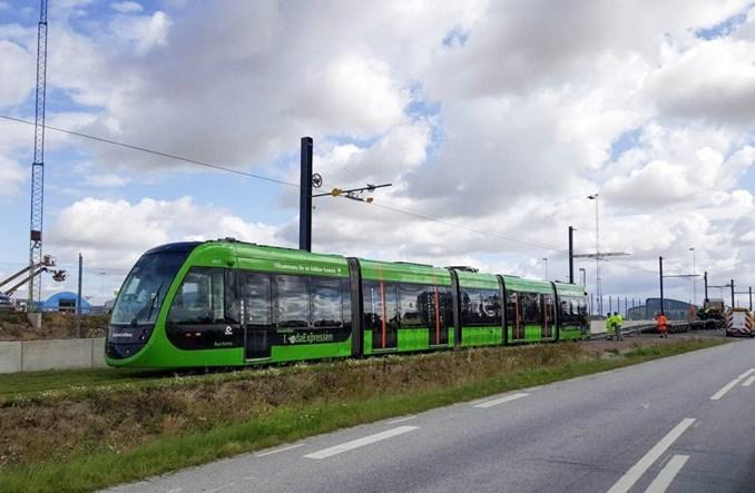 Pierwszy tramwaj dotarł do Lund