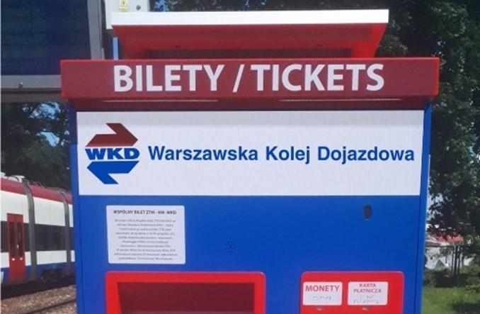 WKD rozpoczęła montaż nowych biletomatów na peronach