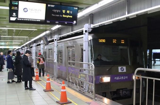 Seul: Linia nr 5 metra zyskała 4,7 km i dwie stacje