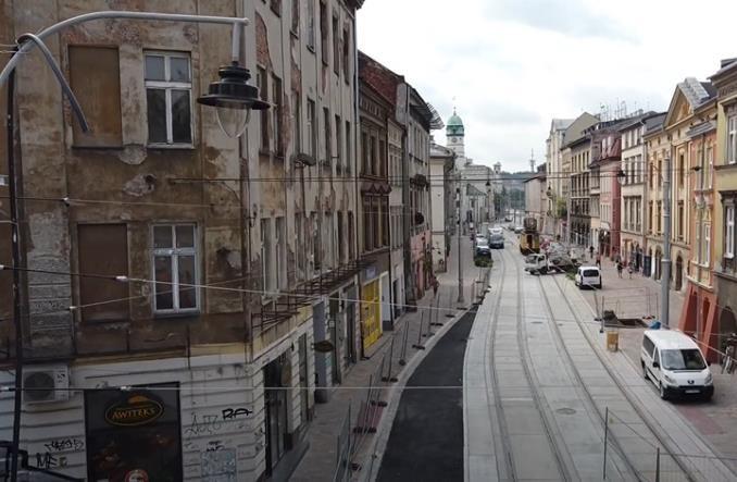 Kraków. Tramwaje znów pojadą ul. Krakowską i al. Jana Pawła II