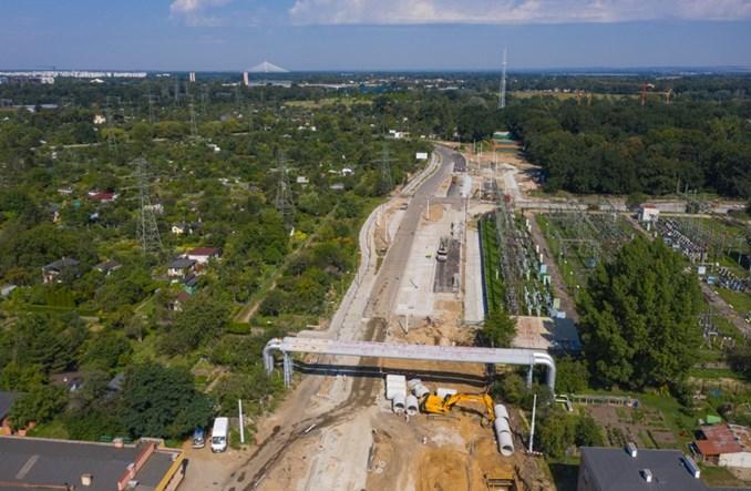 We Wrocławiu ruszyła budowa torowiska tramwaju przez Popowice