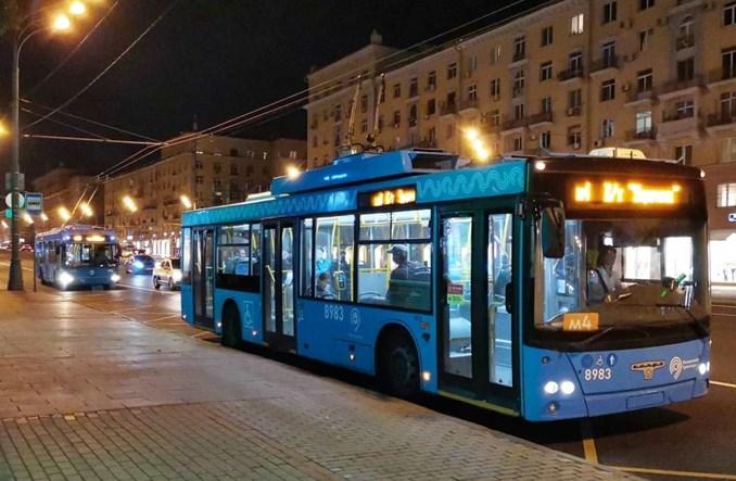 Moskwa pożegnała trolejbusy. Po cichu