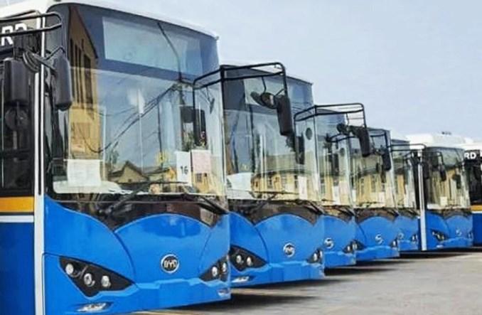 Chiński BYD dostarczył 33 autobusy elektryczne na Barbados