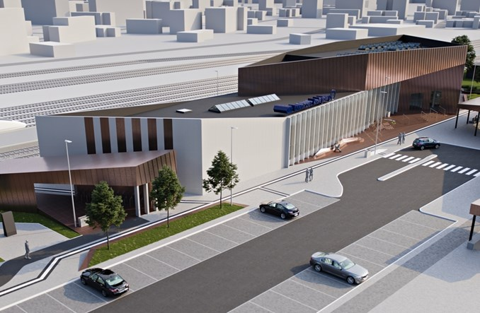Jest projekt nowego dworca kolejowego we Włocławku [ilustracje]