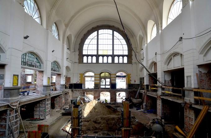 Zabytkowy dworzec Gdańsk Główny w przebudowie [zdjęcia]