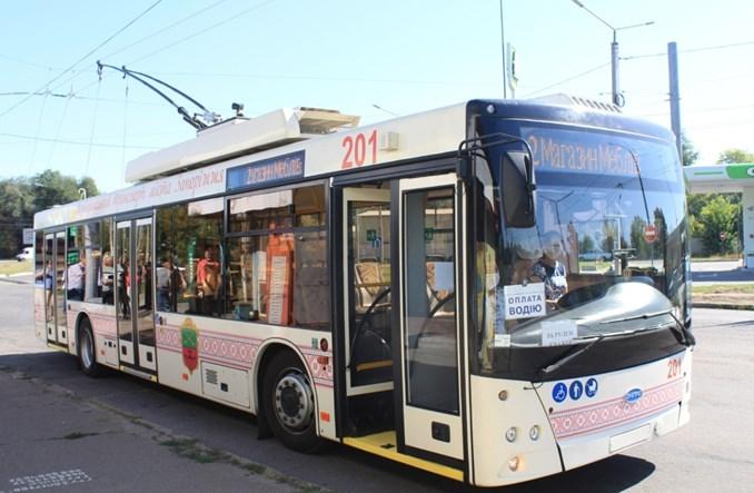 Zaporoże uruchomiło nową trasę trolejbusową