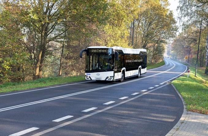 Solaris z  nowym autobusem – mild hybrid