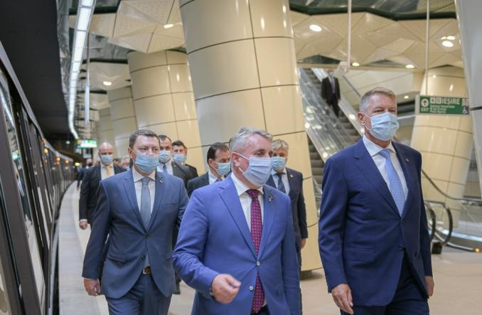 Bukareszt uruchomił piątą linię metra [zdjęcia]