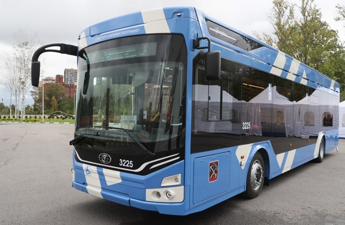 W Petersburgu rusza linia montażowa trolejbusów i aluminiowych tramwajów
