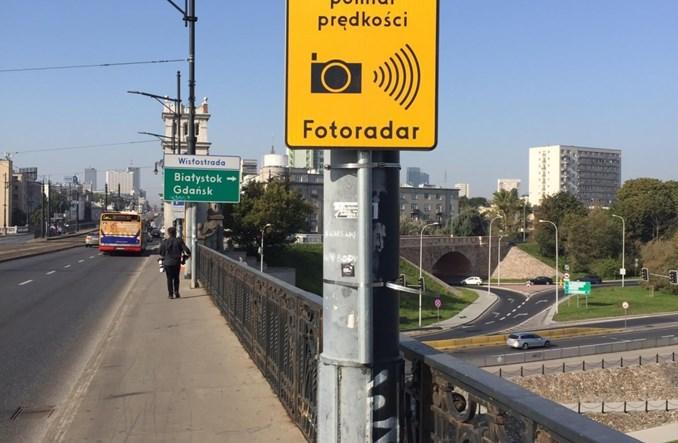 Warszawa. Rozpoczęto testy fotoradarów na moście Poniatowskiego