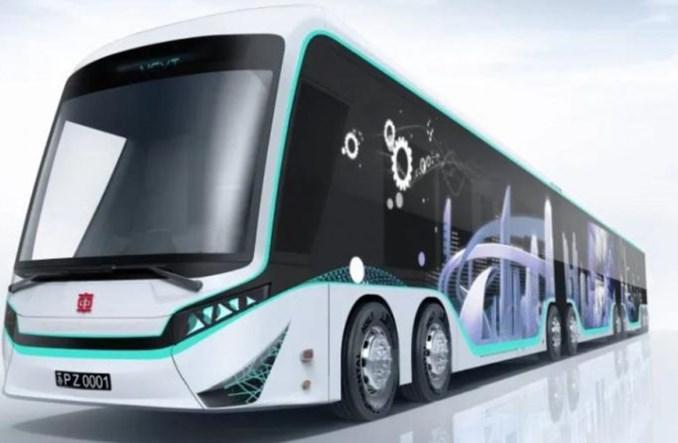 CRRC przedstawia kolejny dwukierunkowy autobus elektryczny