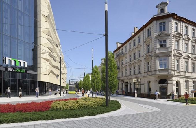 Poznań przebuduje dalszy ciąg ul. Św. Marcin i Al. Marcinkowskiego [wizualizacje]