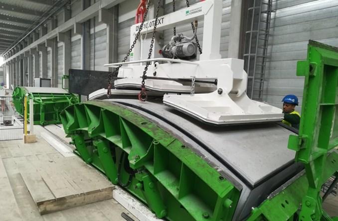 Ruszyła produkcja tubingów dla tunelu kolejowego w Łodzi