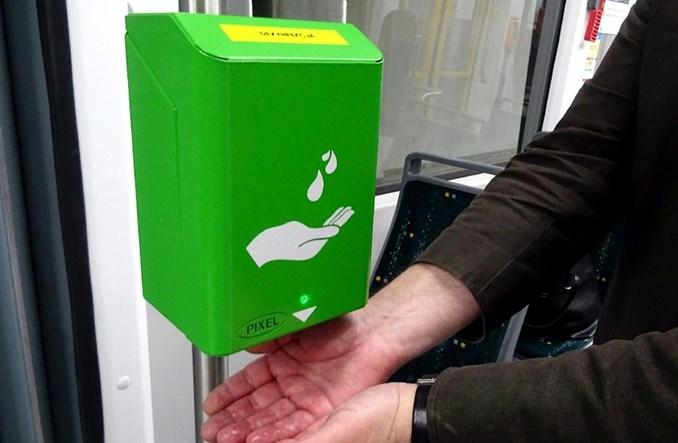 Tysiąc dezynfektorów w autobusach i tramwajach MPK Poznań