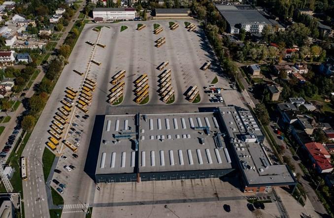 MPK Łódź zakończyło modernizację zajezdni przy ul. Limanowskiego