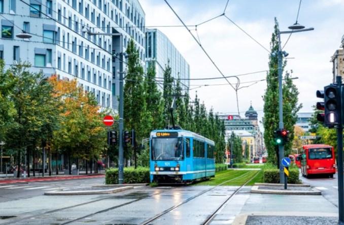 Oslo: Nowy odcinek trasy tramwajowej ułatwił dojazd na Stare Miasto