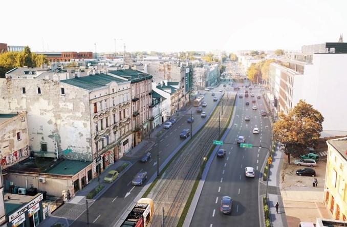 Łódź: Zachodnia bardziej przyjazna dla pieszych, ale bez uspokojenia ruchu