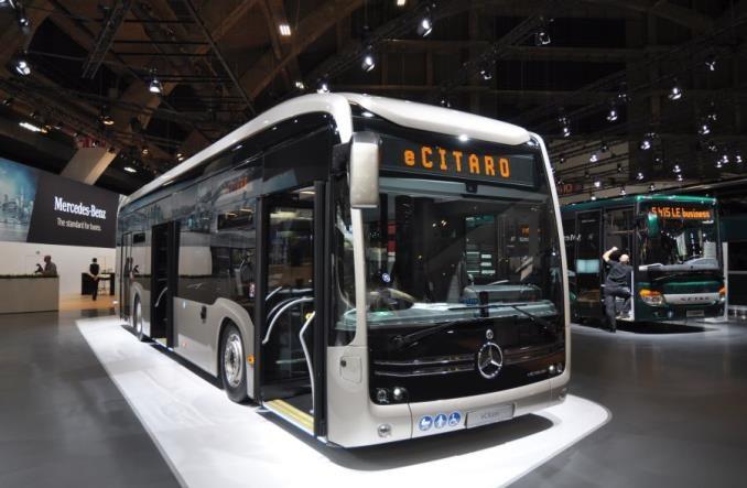 Francuzi kupują bardzo dużą partię elektrycznych Mercedesów eCitaro