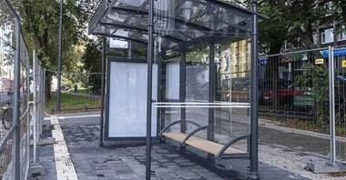 Łódź: Secesja na przystankach. Nowy wygląd wiat