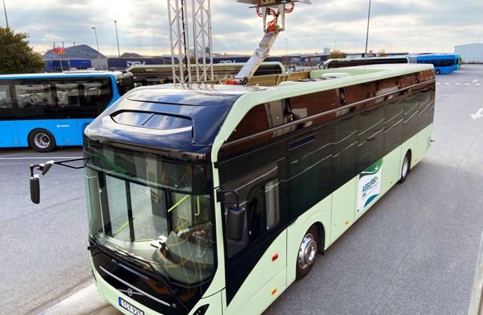 Volvo wprowadzi nowy sposób ładowania elektrobusów