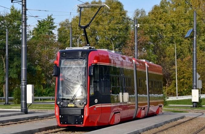 Tramwaje Śląskie: Nowe wagony Pesy wożą już pasażerów