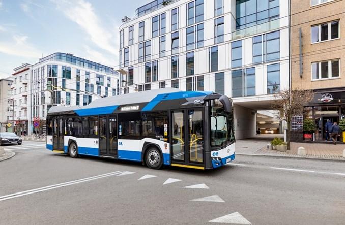 16 trolejbusów Solarisa wzmocni transport w Solingen