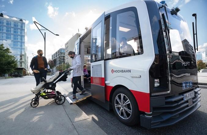 Hamburg. Ruszają autonomiczne pojazdy