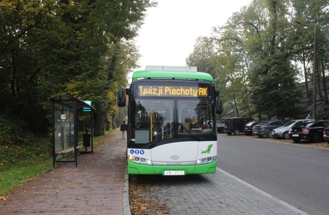 Miechów z elektrobusową komunikacją [zdjęcia]