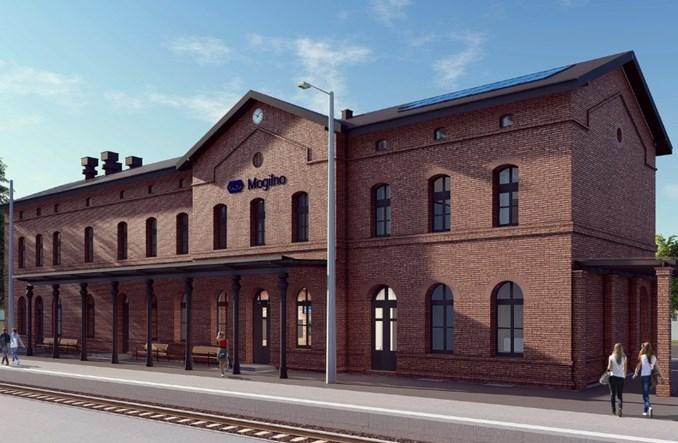 Rusza modernizacja dworca w Mogilnie [wizualizacje]