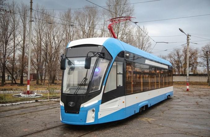 """Trwają dostawy tramwajów """"Lwiątek"""" do Uljanowska"""
