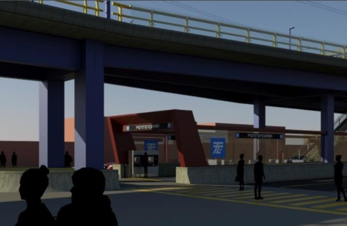 Meksyk buduje trolejbusowy korytarz na estakadzie. 10 przystanków i 8 km trasy