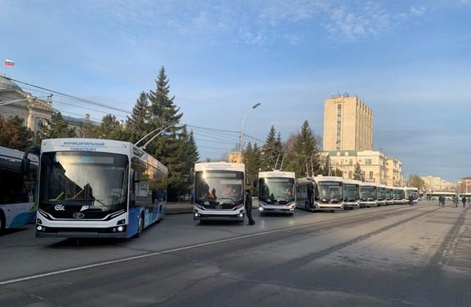 W Omsku zaprezentowano nowe trolejbusy Admirał